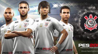 Konami PES 2019 Corinthians