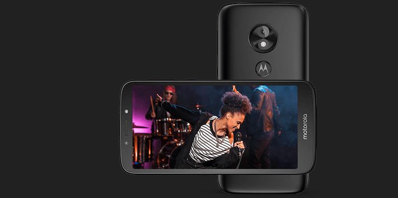 Moto e5 Play, llega a México el primer Android Go de Motorola