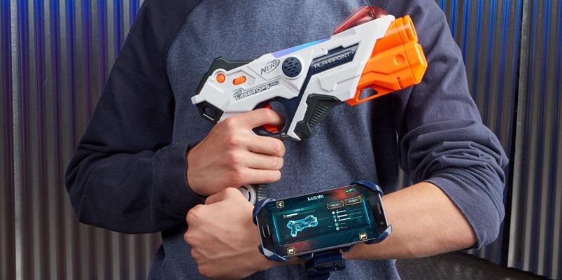NERF Laser Ops Pro, la nueva línea de lanzadores de Hasbro
