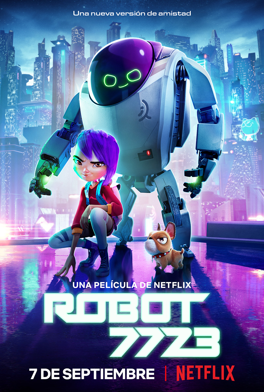 Robot 7723 poster
