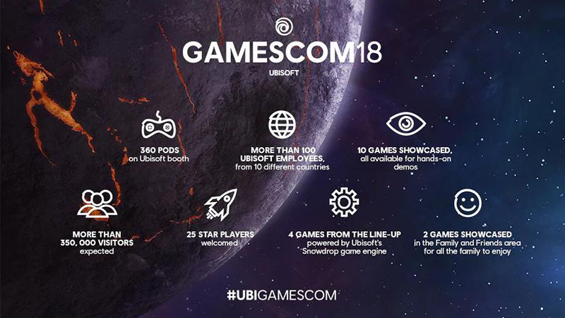 Ubisoft Gamescom 2018 juegos