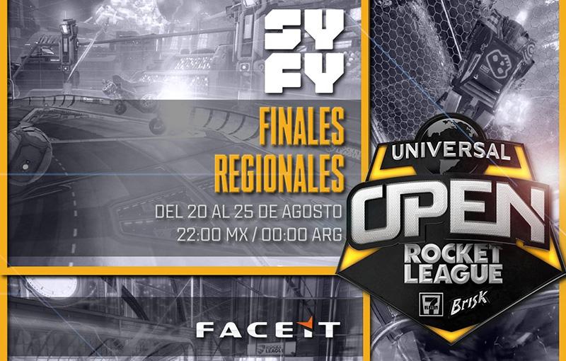 Universal Open Rocket League SYFY finales