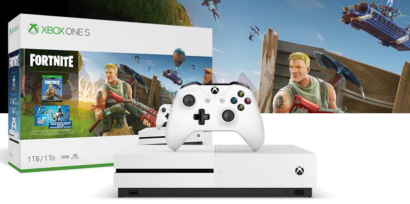 El bundle de Xbox One S Fortnite ya está disponible en México