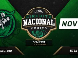 Circuito Nacional Mexico League of Legends 24 sep