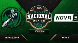 Ve las semifinales del Circuito Nacional México de League of Legends