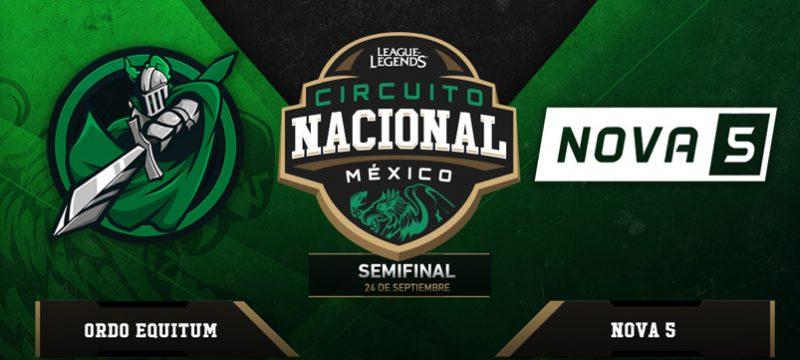 Circuito Nacional Mexico League of Legends 24 sep