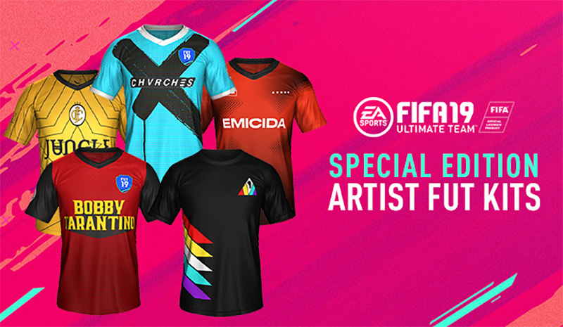 EA FIFA 19 soundtrack artistas