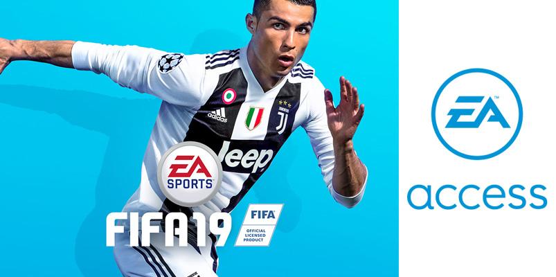 Arma las retas y prueba FIFA 19 ahora mismo en EA Access