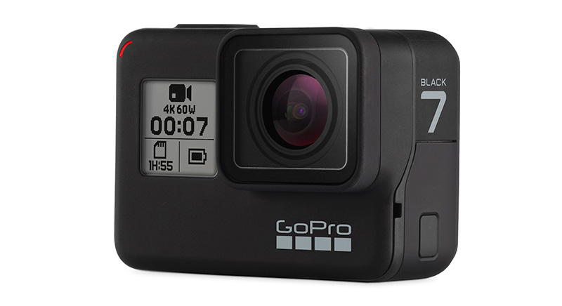 GoPro HERO7 Black lado