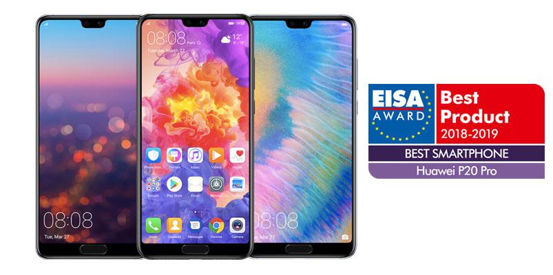 Para EISA, Huawei P20 Pro es el Mejor Smartphone 2018