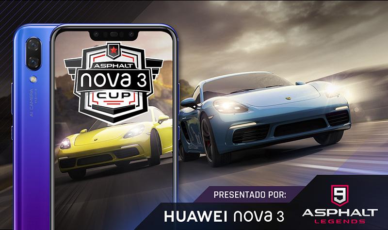 Huawei nova 3 Asphalt Cup Mexico
