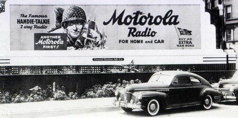 Motorola celebra 90 años de historia y aquí algunos de sus hitos