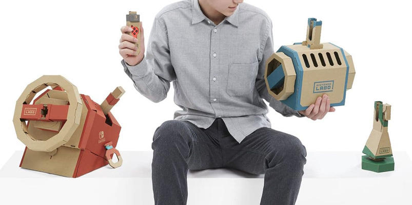 Conoce al divertido Nintendo Labo Toy-Con 03: Vehicle Kit