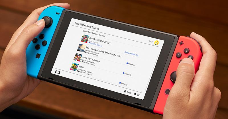 Nintendo Switch Online Cloud
