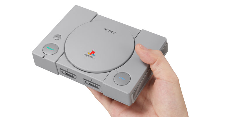 Playstation Classic Incluye 20 Juegos Y Saldra En Diciembre 2018