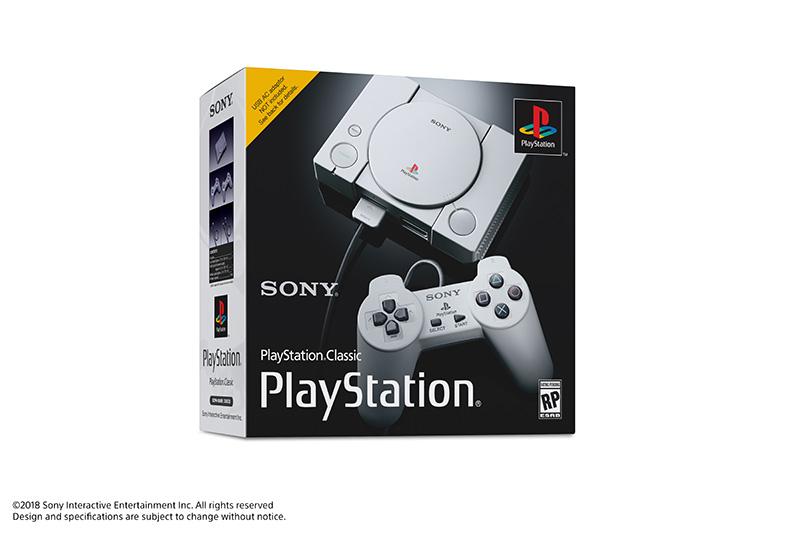 PlayStation Classic caja