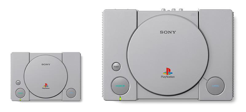 PlayStation Classic comparacion