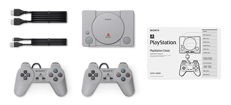 PlayStation Classic manuales