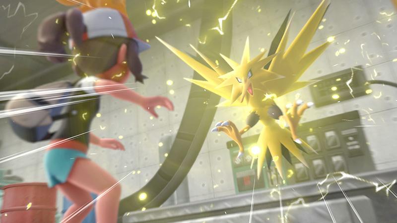Pokemon Lets Go lengendarios