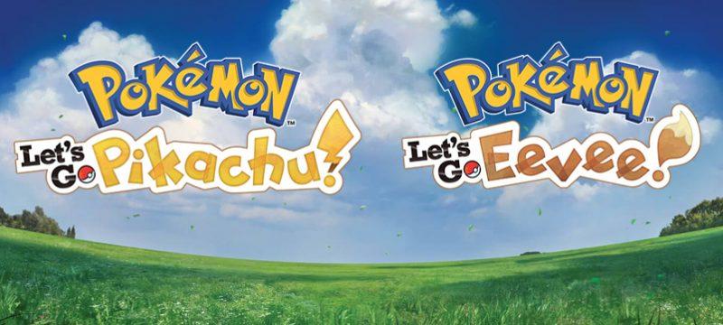 Pokemon Lets Go logos