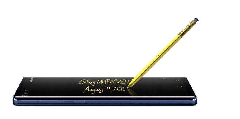 Las ventajas del nuevo S Pen de Samsung Galaxy Note 9