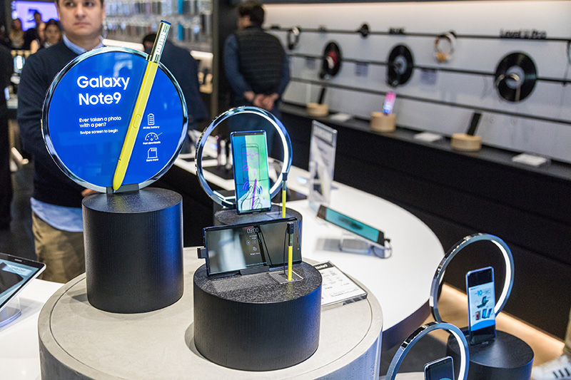 Samsung Experience Store Guadalajara Galaxy Note9