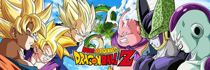 adidas Originals Dragon Ball Z poster