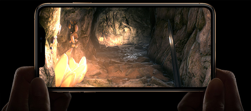 iPhone Xs juegos