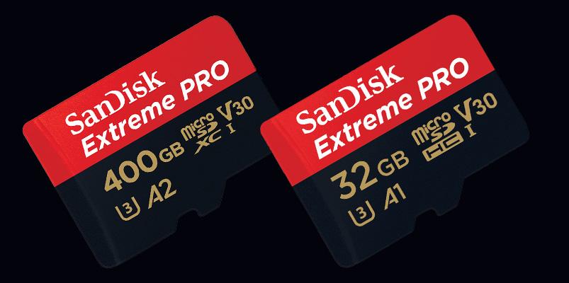 microSD SanDisk Extreme PRO 400GB