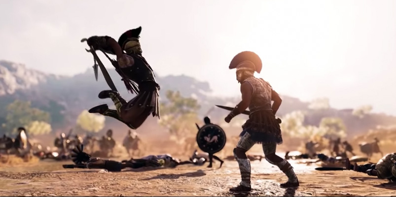 ultimo trailer Assassins Creed Odyssey