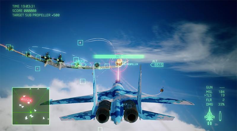 Ace Combat 7 Skies Unknown personalizacion avion