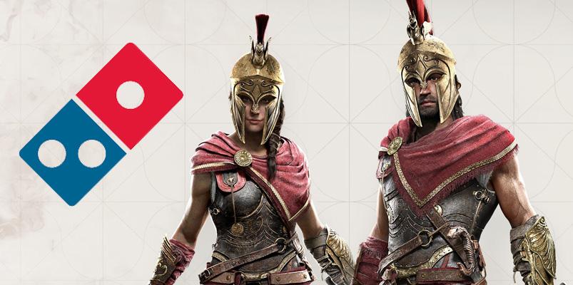 Ubisoft y Domino's te regalan un arma para Assassin's Creed Odyssey