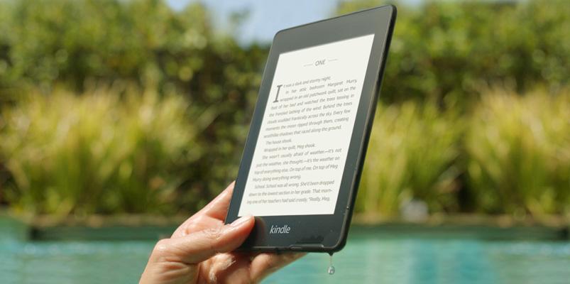 El nuevo Kindle Paperwhite es contra agua y tiene más espacio