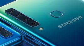 Galaxy A9 es el primer smartphone Samsung con cinco cámaras