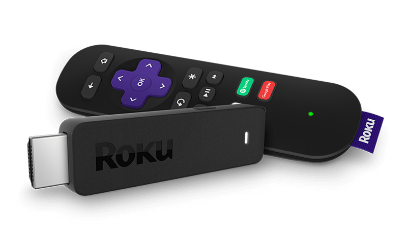 Streaming stick and remote Mexico