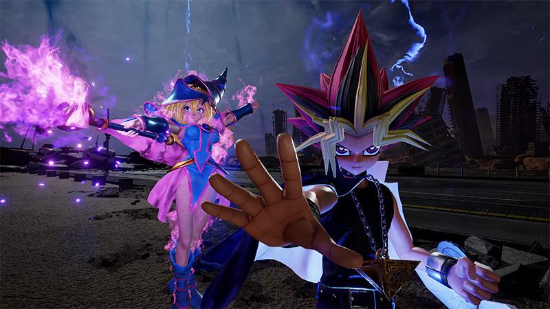 Yugi Muto Jump Force poderes