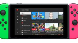 YouTube ya está disponible para Nintendo Switch