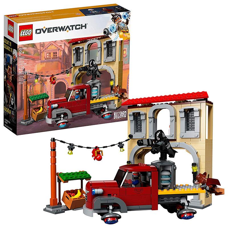 LEGO Overwatch Batalla Final en Dorado