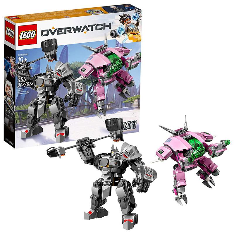 LEGO Overwatch DVa & Reinhardt