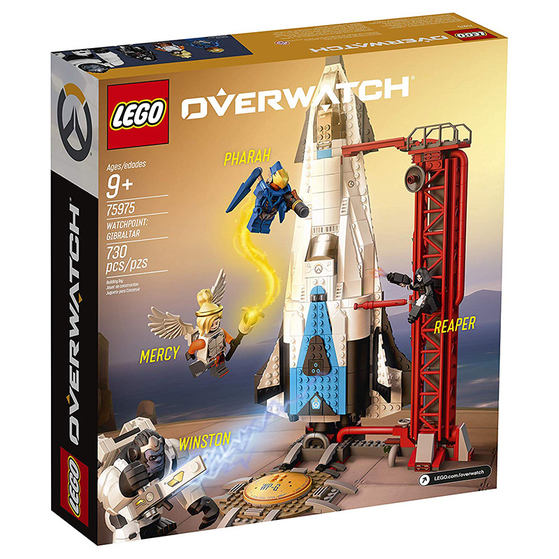 LEGO Overwatch Observatorio Gibraltar