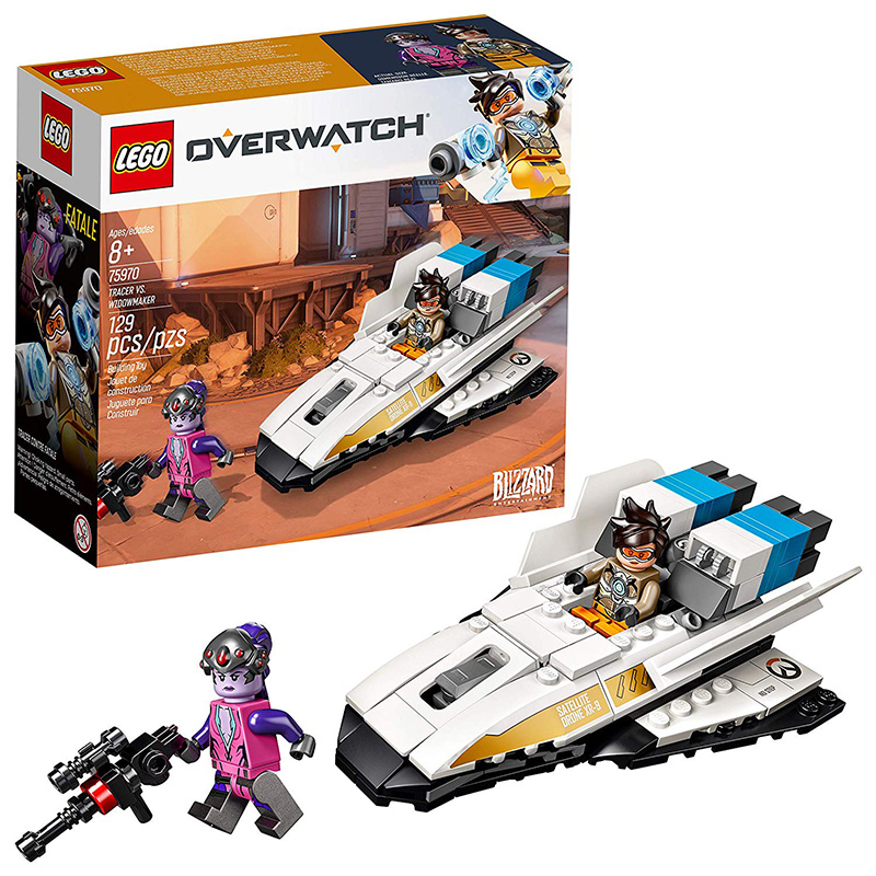 LEGO Overwatch Tracer Vs Widowmaker