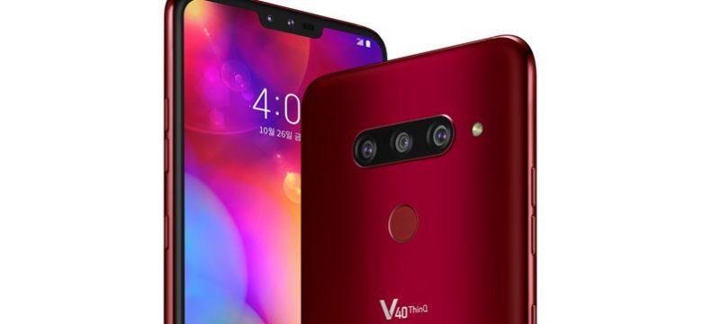 LG V40 ThinQ CES 2019