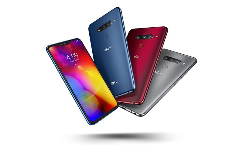 LG V40 ThinQ CES 2019 Premio