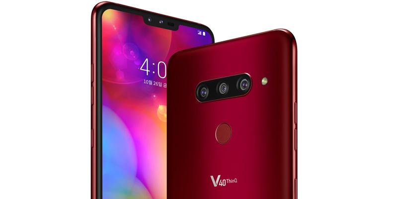 LG V40 ThinQ será reconocido en los CES Innovation Awards 2019