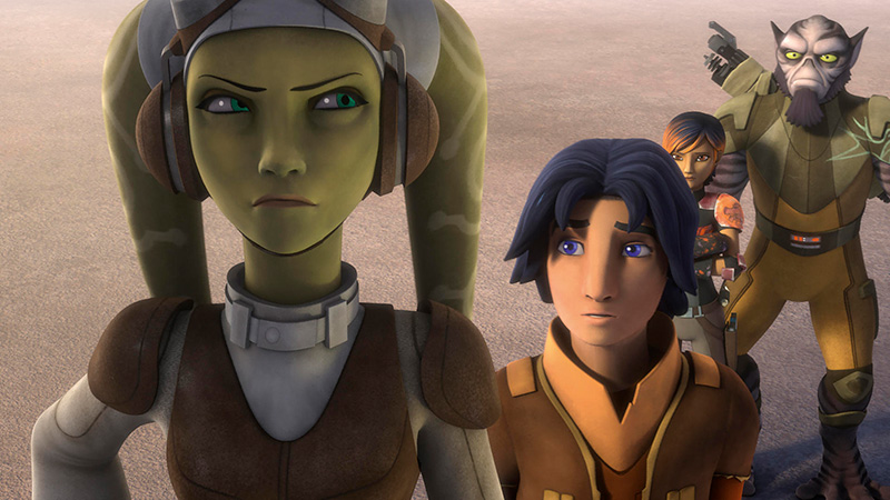 Star Wars Rebels Temporada 4 Netflix
