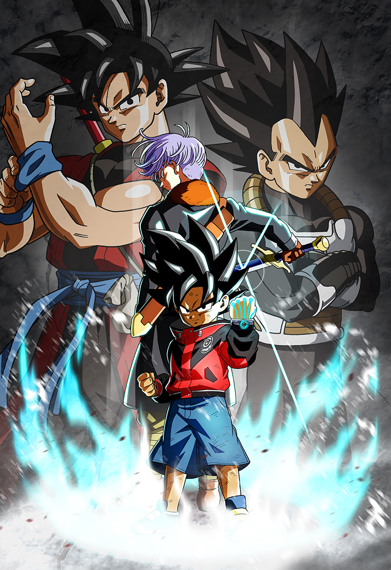 Super Dragon Ball Heroes World Mission arte