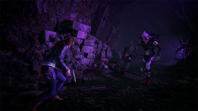 The Nightmare Shadow of the Tomb Raider DLC