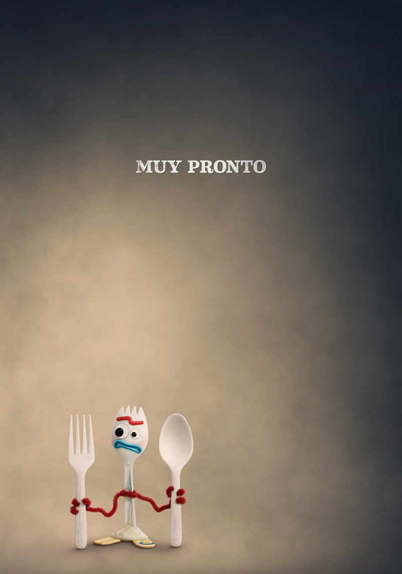 Toy Story 4 Poster Forky