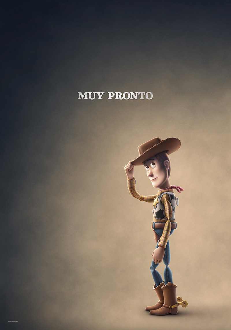 Toy Story 4 Poster Woody