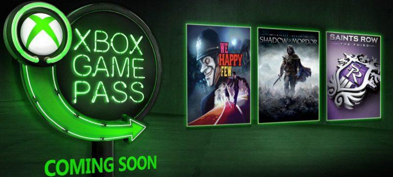 Xbox Game Pass enero 2019